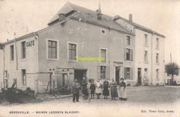 CPA GEROUVILLE MAISON LECOMTE GLAUDOT EDIT. VICTOR CAEN ARLON CAFE - Meix-devant-Virton