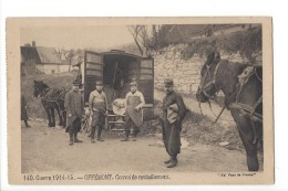 14364 - Guerre 1914-14 Offémont Convoi De Ravitaillement  Ed. Pays De France - Weltkrieg 1914-18