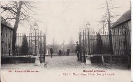 CAMP DE BEVERLOO.-HOPITAL MILITAIRE.-KOOPJE - Leopoldsburg (Camp De Beverloo)