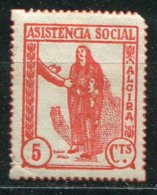 ESPAGNE - ALCIRA - Asistencia Social - Gomez-Guillamon 27 - Vignettes De La Guerre Civile