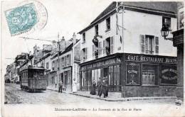 78 Maisons-Laffitte La Descente De La Rue De Paris 1906 - Maisons-Laffitte