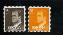 SPANJE  MINT NEVER HINGED POSTFRIS NEUF SANS  CHARNIERE POSTFRISCH EINWANDFREI YVERT 2204 2205 - 1931-Aujourd'hui: II. République - ....Juan Carlos I