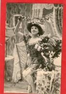 Jolie Jeune Femme - 1904 - - Spectacle
