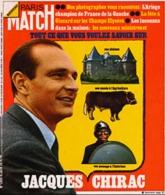 PARIS MATCH N° 1309 - Jacques Chirac , Françoise Sagan 20 Ans Apres, La Fete à Giscard - 8 Juin 1974 - General Issues