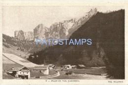 37450 ITALY VAL GARDENA BOLZANO VIEW PANORAMIC POSTAL POSTCARD - Italia