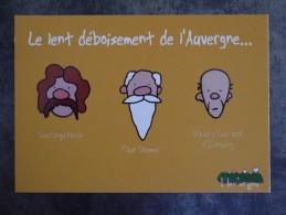 AUVERGNE I LOV ERGNE ARVERNE LE LENT DEBOISEMENT DE L AUVERGNE - Auvergne