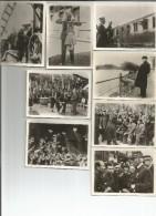 8 PHOTOGRAPHIES PETAIN   6.5 CM X 9.2 CM - War 1939-45