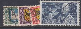 Switzerland Pro Juventute 1930 Used Set - Used Stamps
