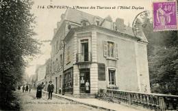 Dép 65 - Capvern Les Bains - L'avenue Des Thermes Et L'Hôtel Duplan - état - Francia
