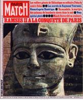 PARIS MATCH N°1410 - Ramsès II à La Conquète De Paris, Les Rolling Stones, Gaston Bonheur - 5 Juin 1976 - Informations Générales