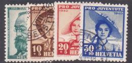 Switzerland Pro Juventute 1940 Used Set - Pro Juventute