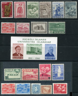 Iceland. A Selection Of Stamps - Collections, Lots & Séries