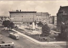 CZECH REPUBLIC - Opava 1960's - Namesti Obrancu - Trolleybus - Czech Republic