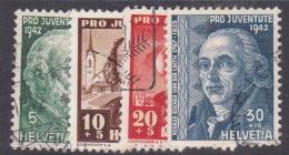 Switzerland Pro Juventute 1942 Used Set - Used Stamps