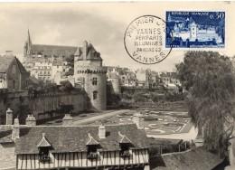 1962 - CM - VANNES - Les Remparts - Tp N°1333 - 1960-69