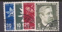 Switzerland Pro Juventute 1944 Used Set - Pro Juventute