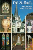 WELLINGTON   OLD ST. PAUL'S    AND VIEWS      (NUOVA) - Nuova Zelanda