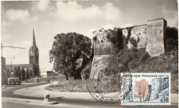 1963 - CM - CAEN - Le Château - Tp N°1389 - 1960-69