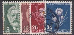 Switzerland Pro Juventute 1945 Used Set - Used Stamps