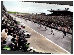 CPSM LE MANS , CIRCUIT DES 24 HEURES DU MANS , Course Automobile En 1962 , Le Départ - Le Mans