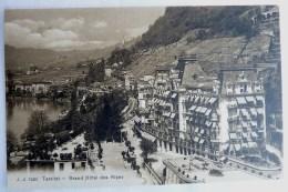 SUISSE VAUD - TERRITET - GRAND HOTEL DES ALPES -  7435 JJ - VD Vaud