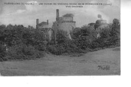 PLEDELIAC  Les Ruines Du Château Féodal De La HUNAUDAYE Vue Générale - Autres Communes