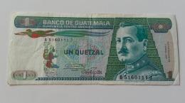 GUATEMALA 1 QUETZAL 1987 - Guatemala