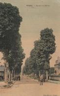 Yvetot - Route Du Havre  (carte Toilée)  - Scan Recto-verso - Non Classificati