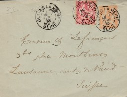 """Entier Postal Type """"Mouchon """" (n°215 Yvert ) -  - Scan Recto-verso - Postal Stamped Stationery"""