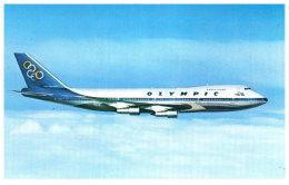 AVIATION - OLYMPIC AIRWAYS - Boeing 747 200B - 1946-....: Moderne