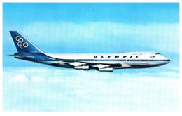 AVIATION - OLYMPIC AIRWAYS - Boeing 747 200B Jumbo Jet - 1946-....: Moderne