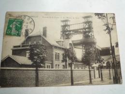 62 LOOS EN GOHELLE AVENUE DE LA FOSSE 15 DES MINES DE LENS CIRCULEE 1914  DOS DIVISE ELD DECHIRURE HAUT DROIT - France