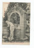 Cp , 64 , PAU , La Fontaine De L'avenue THIERS , Vierge - Pau