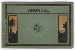 RB 1089 - Early Booklet / Folder By Dainty With 12 Views Of Arundel Sussex - Old Paper