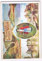 RB 1089 - 32 Page Souvenir Booklet By Valentine - Through Lovely Wales - Postcard Views - Old Paper