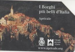 USATA-1824-TELECOM ITALIA- I BORGHI D'ITALIA- APRICALE - Italia