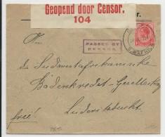AFRIQUE DU SUD - SWA - 1916 - ENVELOPPE Avec CENSURE De GIBEON - Briefe U. Dokumente