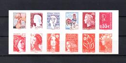 CARNET N°1518  LES VISAGES DE LA 5 IEME REPUBLIQUE - Carnets
