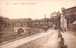 ¤¤  -  117   -   PARIS   -  Le Métro De La Vilette  -  Train   -   ¤¤ - District 19