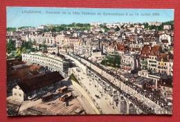 LAUSANNE 1909 SOUVENIR DE LA FETE FEDERALE DE GYMNASTIQUE - EDITORE PHOTYPLE CO.NEUCHATEL - N.V.  RR - Francobolli