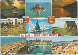 Cp , 50 , Baie Du MONT SAINT MICHEL , Voyagée , Ed : Artaud - France