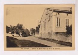 CPA DPT 31 VALENTINE, STATUE DE ST JEAN ET ROUTE DE LUCHON - Autres Communes
