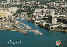 LORIENT - A L'entrée Du Scorff Et Du Blavet, Palais Des Congrès, Bassin à Flot, Tour De Découverte  (HE- C826) Neuve - - Lorient
