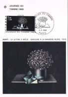 17715. Tarjeta Maxima PARIS (Francia) 1980. Lettre A Amelie. Carta A Amelia. Dia Sello - Cartas Máxima