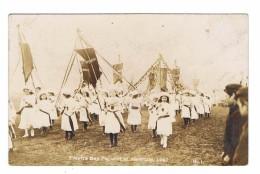 CARTE PHOTO  ROYAUME UNI SHEFFIELD Empire Day India  1907  2 Cards - Sheffield