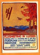 MAI064, Repro, Flug Meeting In Luzern 1914 , 1274, GF, Non Circulée - Sin Clasificación