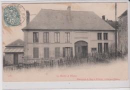 (02) BEAURIEUX  (793 Ha) La Mairie Et L'Ecole - Other Municipalities