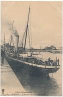 SAINT MALO - Arrivée D'un Paquebot Anglais - Saint Malo