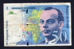 Francia 50 Franchi 1997 Circolate - BB - 1992-2000 Ultima Gama