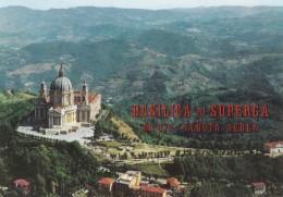 TORINO: Basilica De Superga (m 672) - Veduta Aerea - Churches